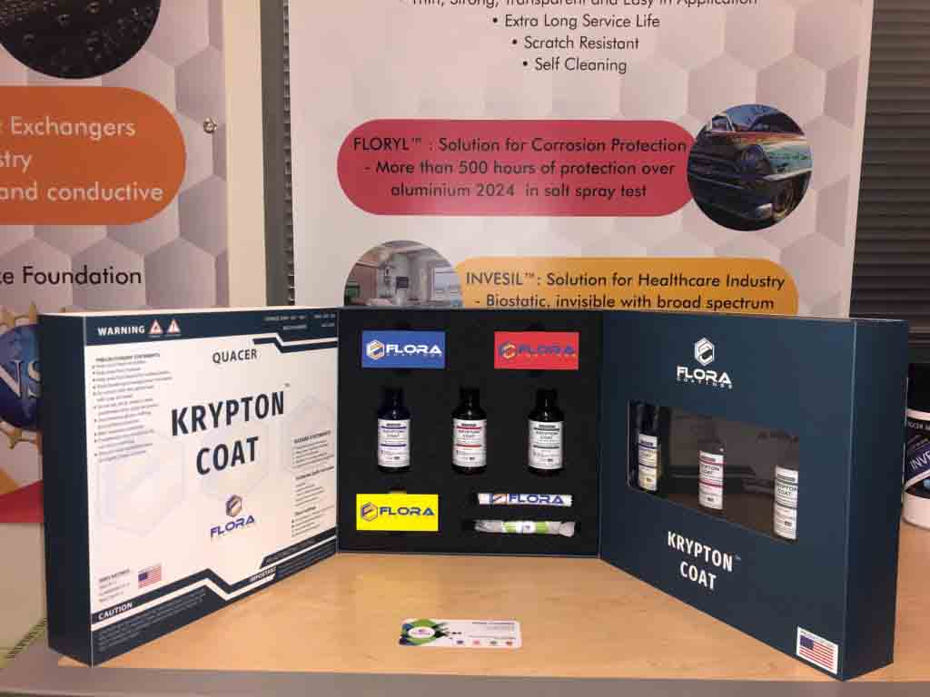 Flora Coatings introduces KryptonCoat for automotive industry